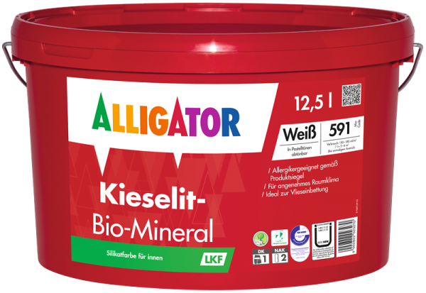Alligator Kieselit-Bio-Mineral LKF Weiß