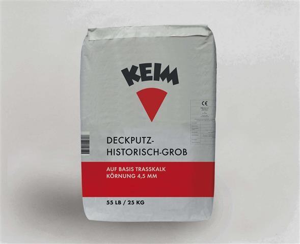 KEIM Deckputz-historisch-Grob